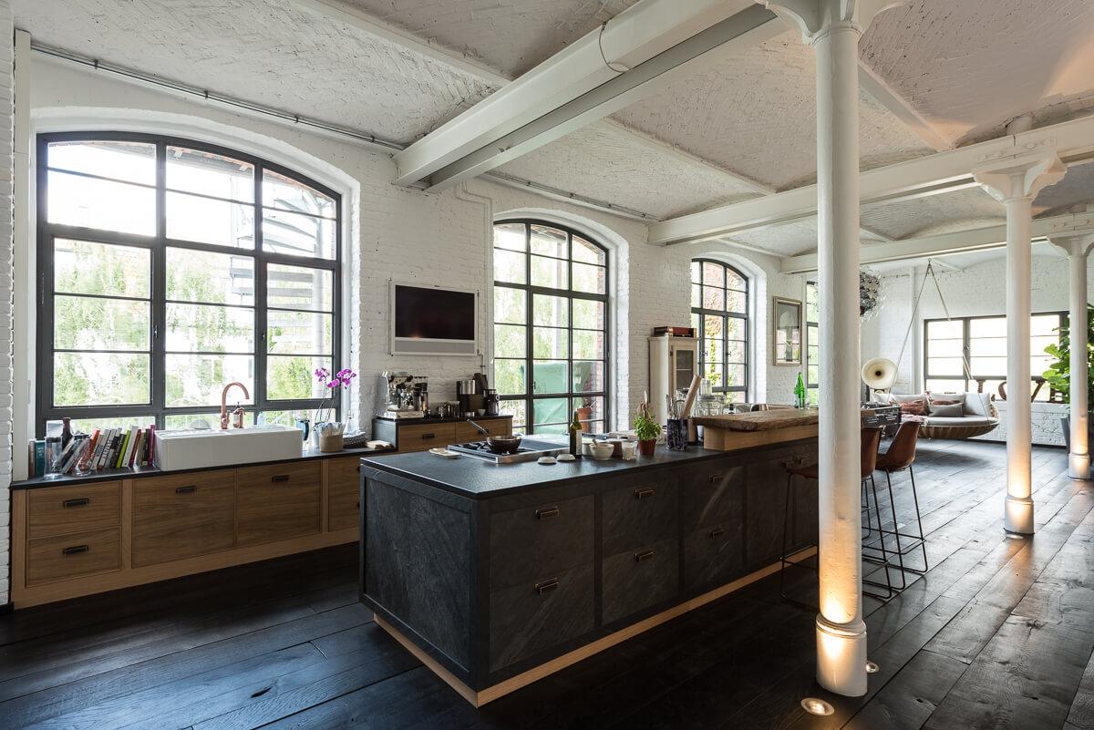 berlin loft k che jbw interior. Black Bedroom Furniture Sets. Home Design Ideas